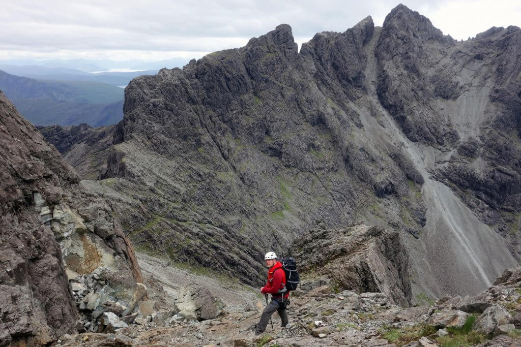 skye mountain guides cuillin inaccessible pinnacle